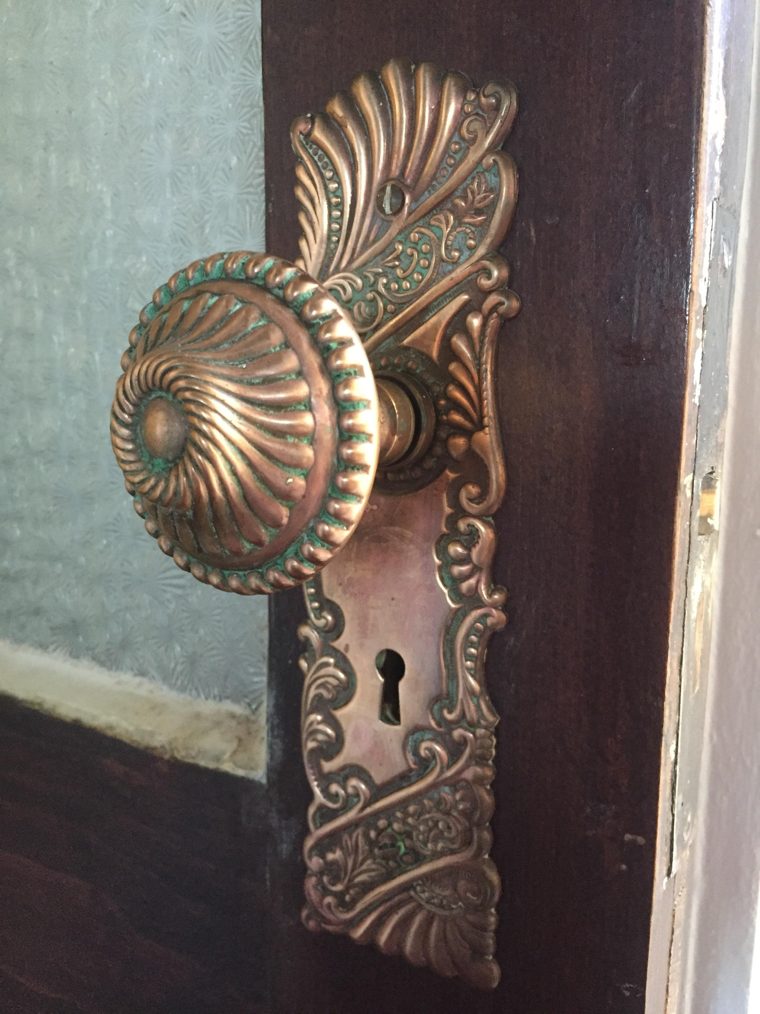 PUT ME LIKE · I see your hinge and give you my 121 year old door knob.