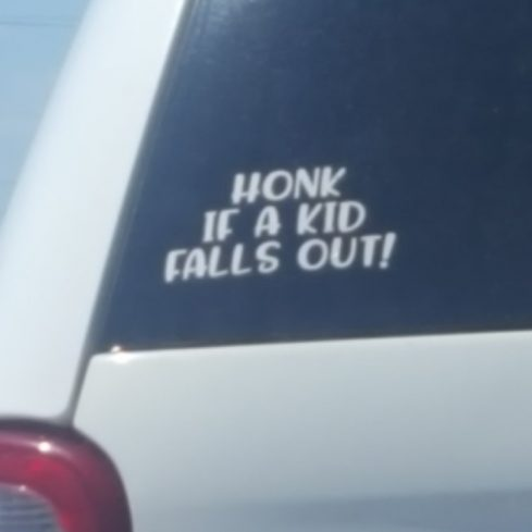 Funniest bumper sticker ive ever seen