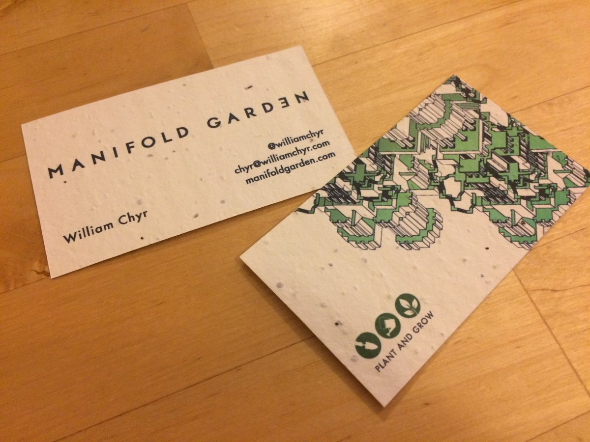 PUT ME LIKE · Seed business cards. You can actually plant these, and ...