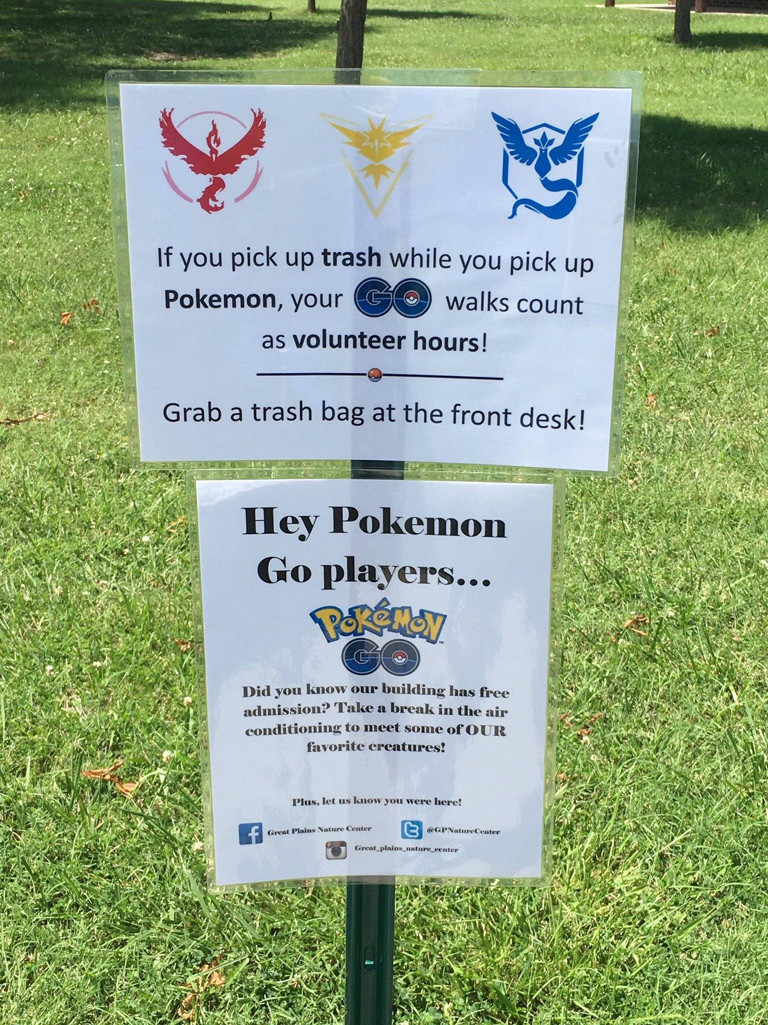 Memes My Local Nature Center Is Using Pokemon Go To