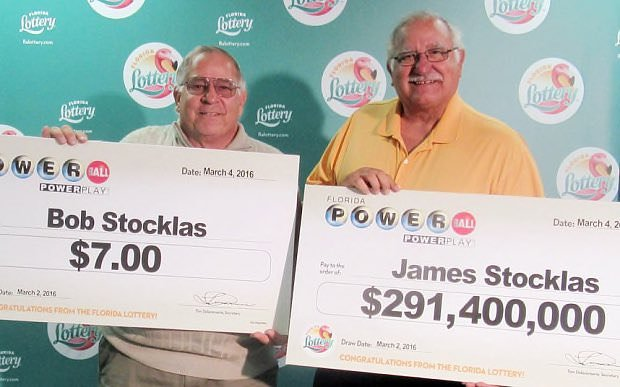 Two brothers won the lottery on the same day.